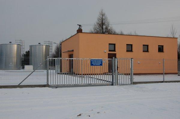 Przebudowa irozbudowa stacji wodociągowej wmiejscowości Osiek